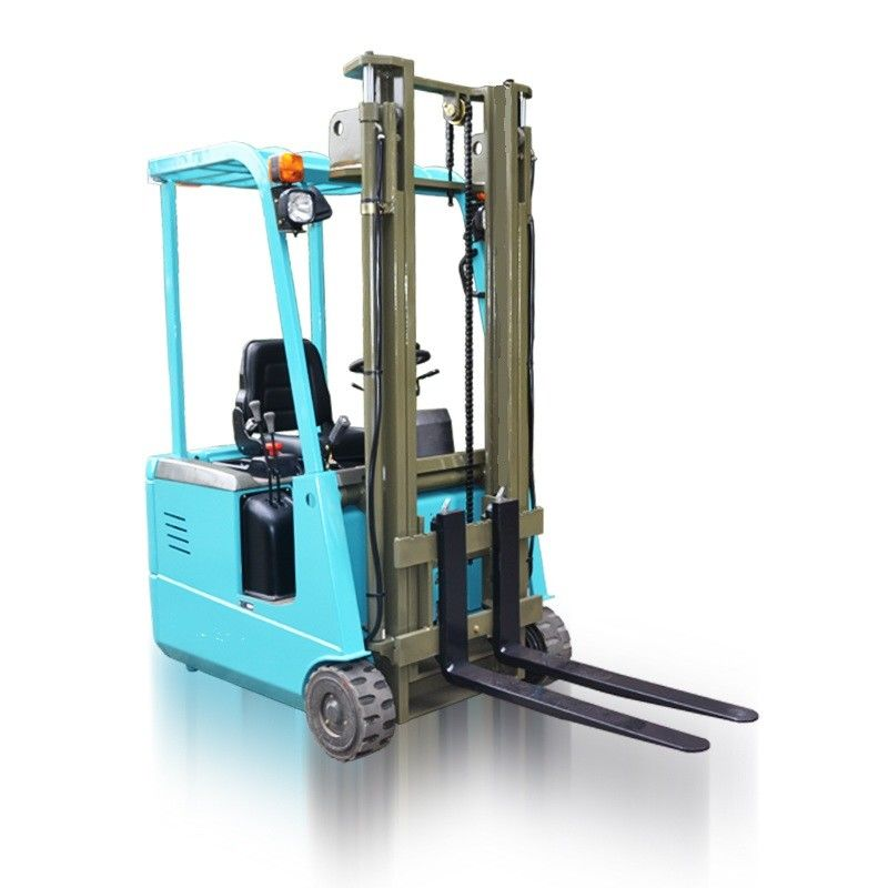 Portable LP Gas Engine Three Wheel Electric Forklift Counterbalance Lift Truck